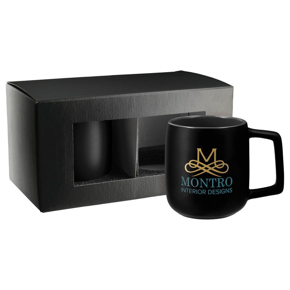 Sienna Ceramic Mug 2 in 1 Gift Set