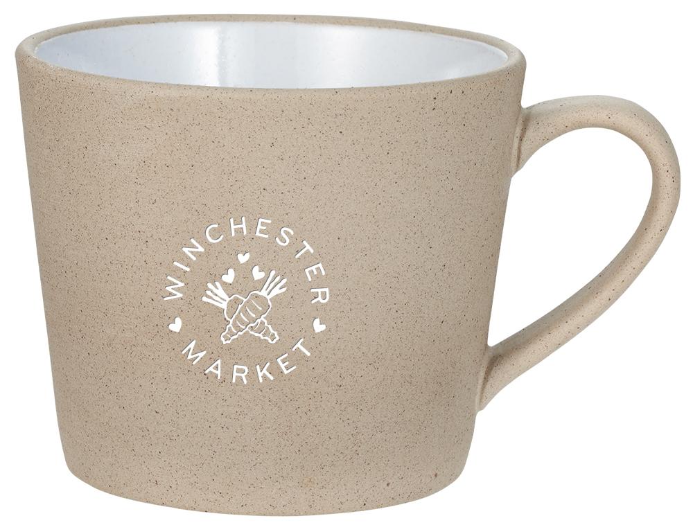 Cotto Natural Ceramic Mug 11oz