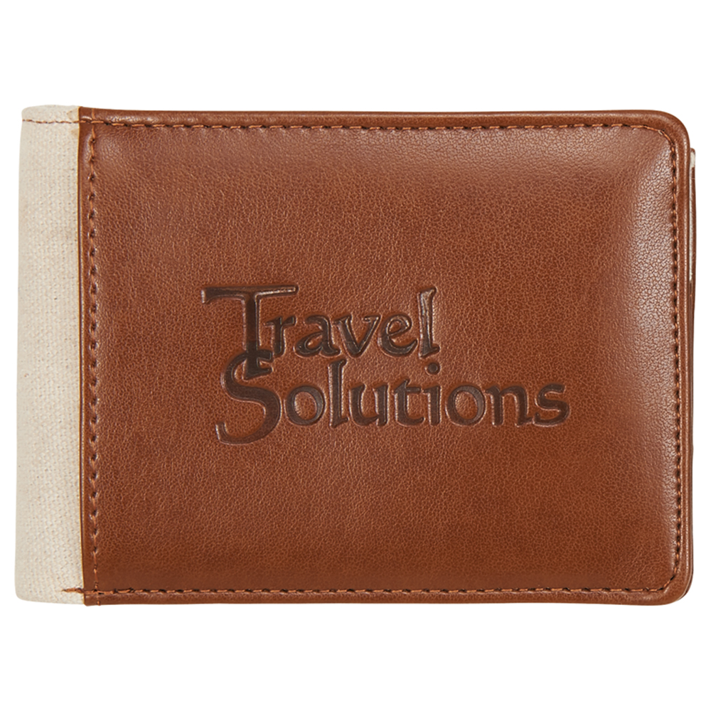 Mea Huna Cotton Bi-Fold Travel Wallet