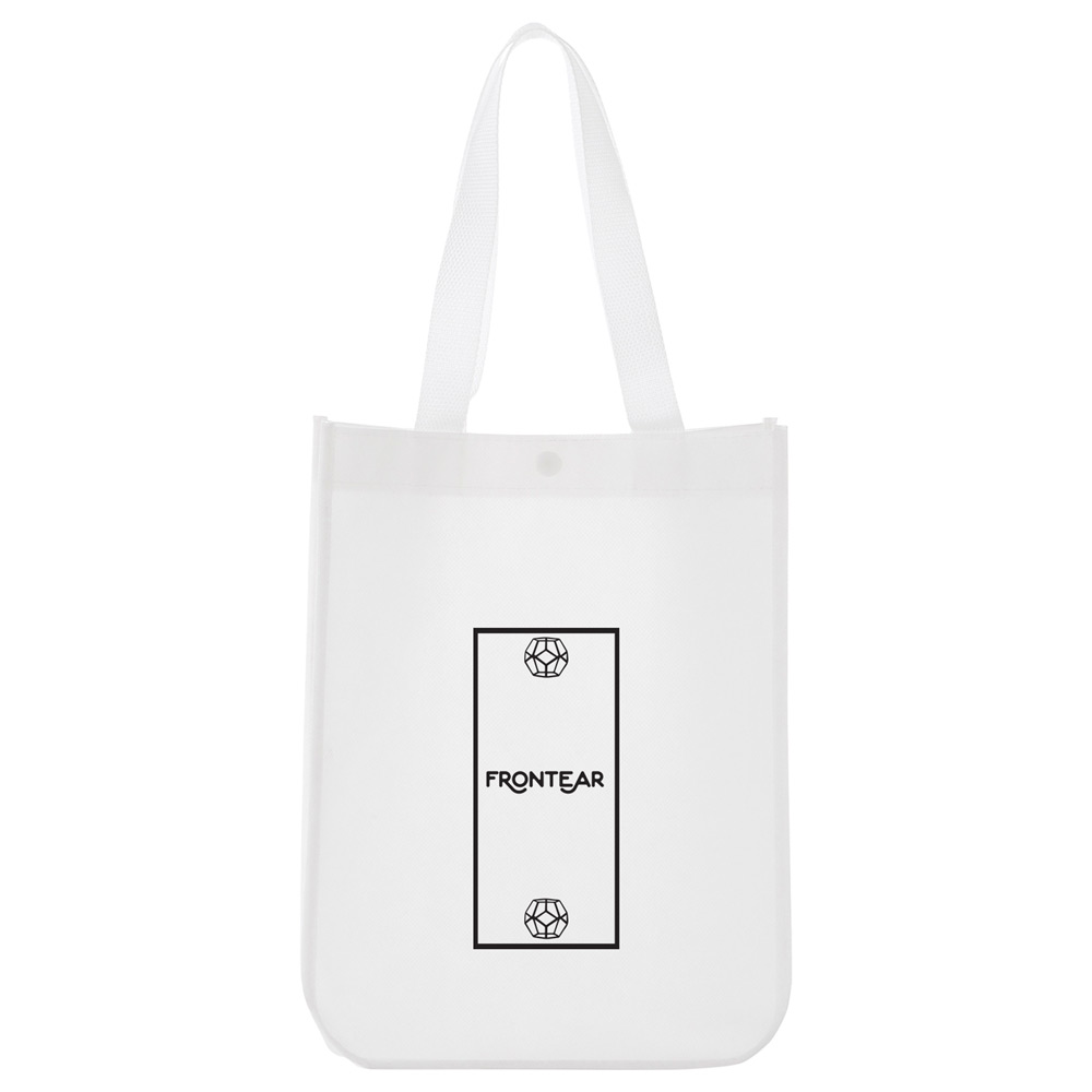 LoLo Mini Laminated Tote w/Snap