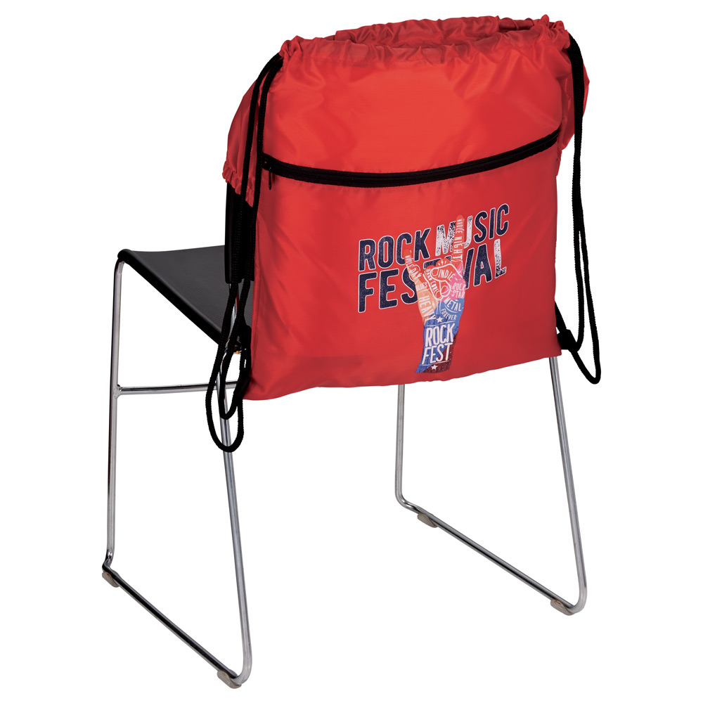 BackSac Deluxe Drawstring Chair Cover