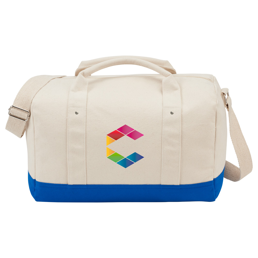 "Belair 17"" Cotton Canvas Duffel"