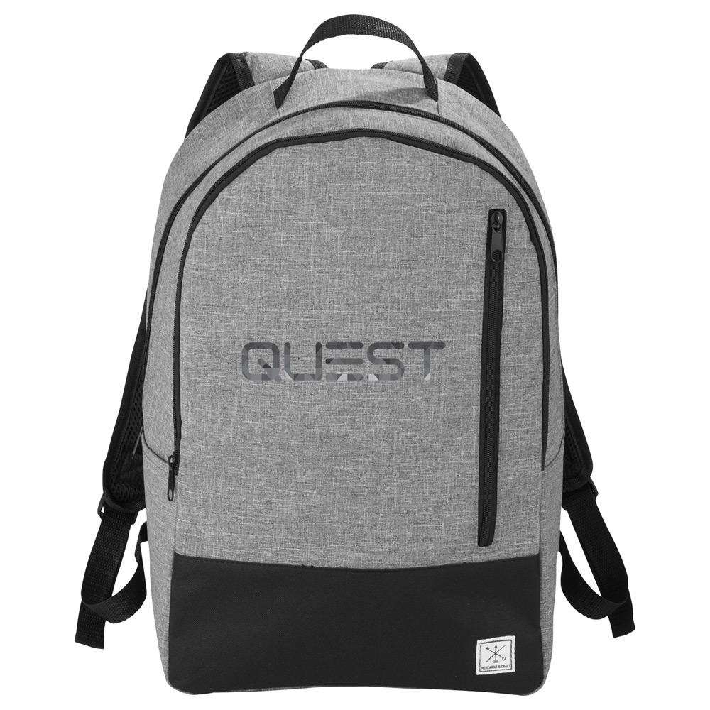 "Merchant & Craft Grayley 15"" Computer Backpack"