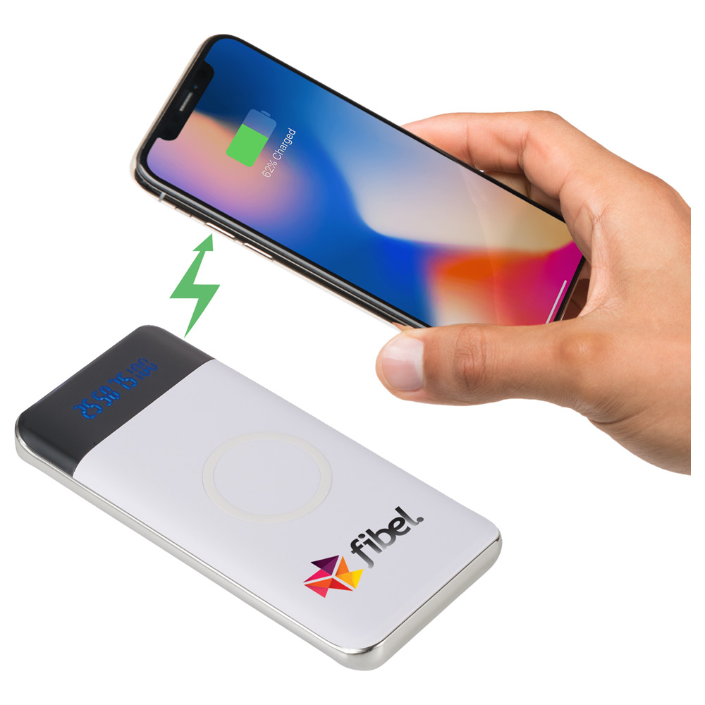 Constant 10000 mAh Wireless Power Bank w/Display