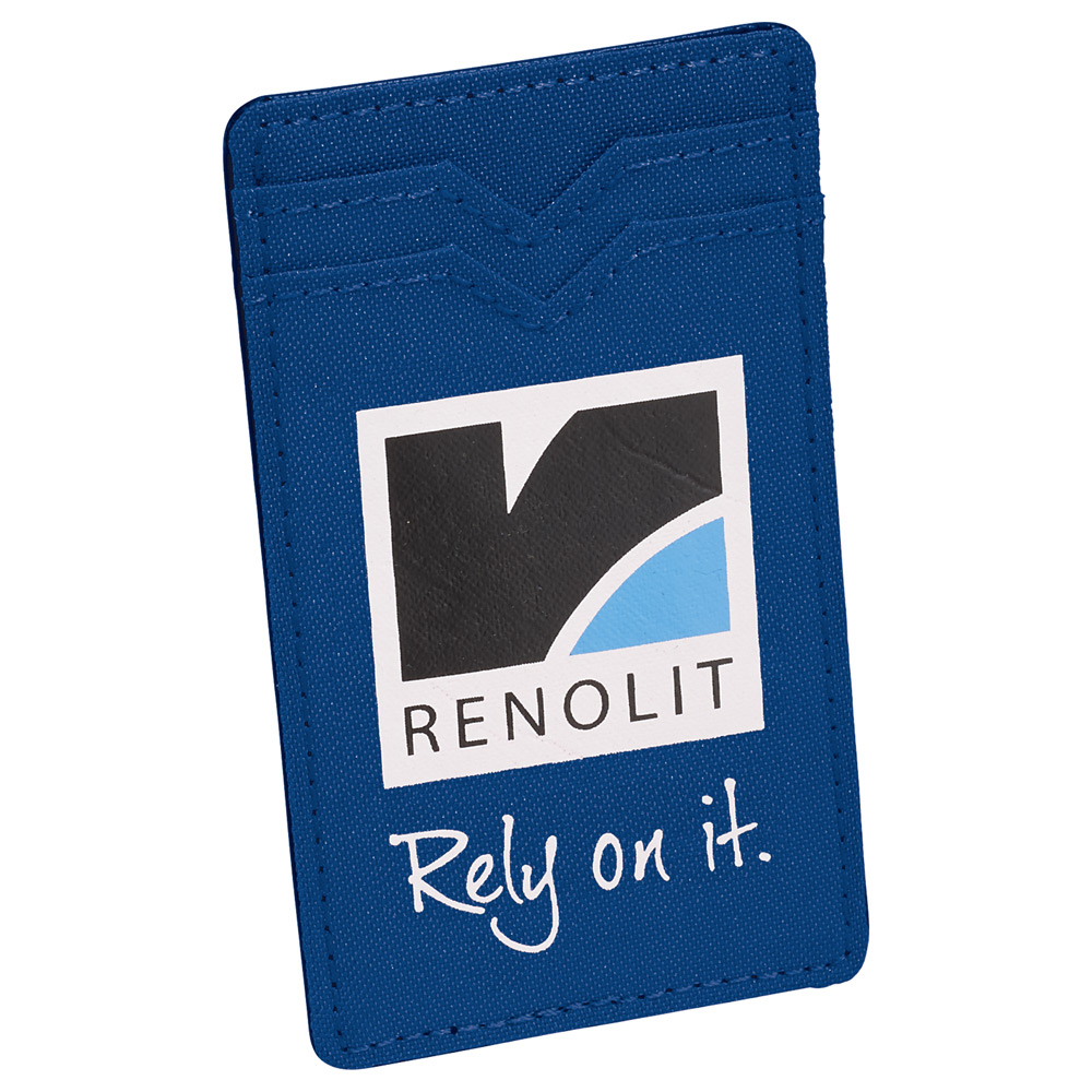 Dual Pocket RFID Phone Wallet