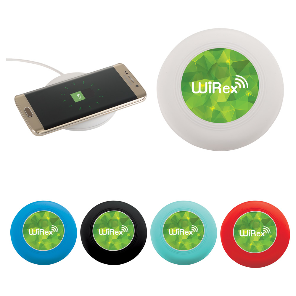 Nebula Wireless Charging Pad with Integrated Cable