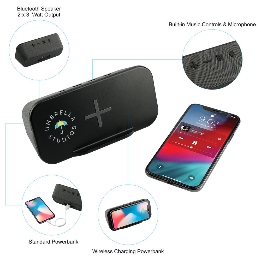 ifidelity Pop Speaker with Wireless Powerbank
