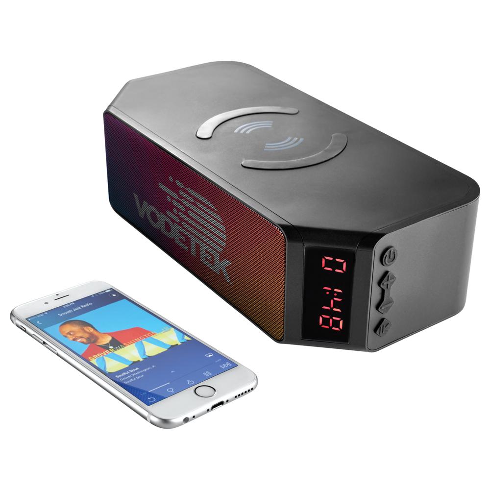 Bluetooth Speaker with Wireless Charging Powerbank