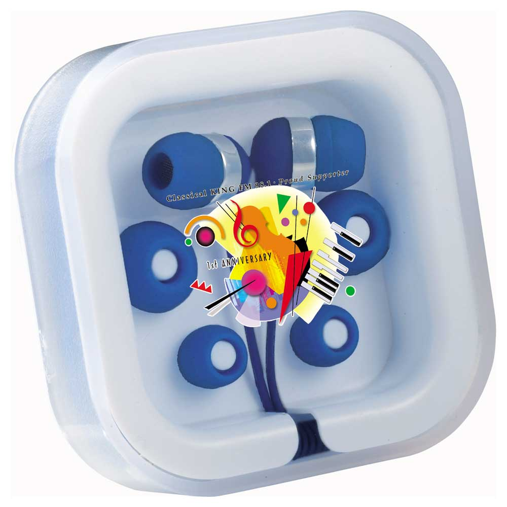 Color Pop Earbuds with Mic