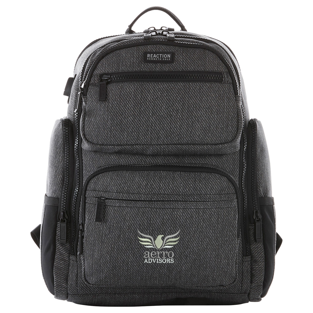 """Kenneth Cole Double Pocket 15"""" Computer Backpack"""