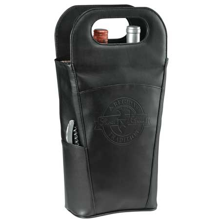 Belgio Insulated Double Wine Tote