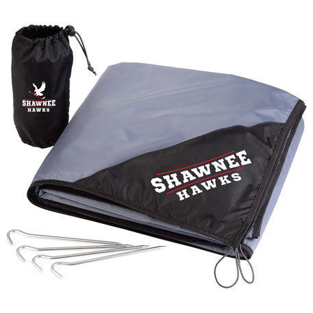 Oversized Lightweight Picnic Blanket with Stakes
