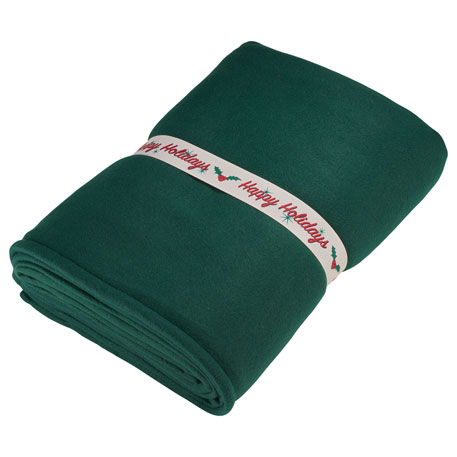 Happy Holidays Blanket Band
