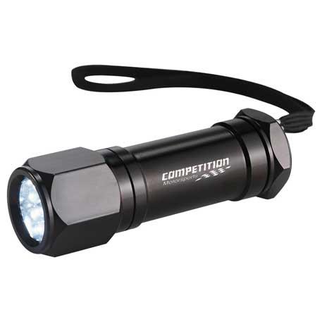 Built2Work 8 LED Aluminum Superbright Flashlight
