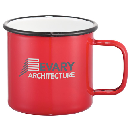 Enamel Metal Cup 16oz