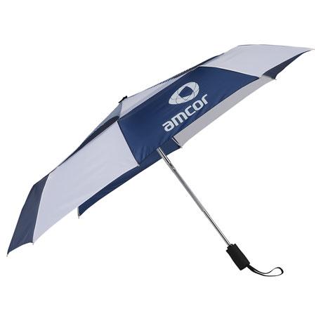 "42"" Vented, Auto OpenClose Folding Umbrella"