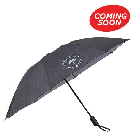 "46"" AOC Heathered Folding Inversion Umbrella"
