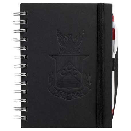 "5.75"" x 7"" Hardcover Spiral JournalBook®"
