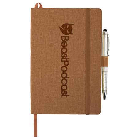 """5.5"""" x 8.5"""" Heathered Soft Bound JournalBook"""