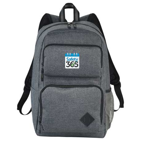 """Graphite Deluxe 15"""" Computer Backpack"""