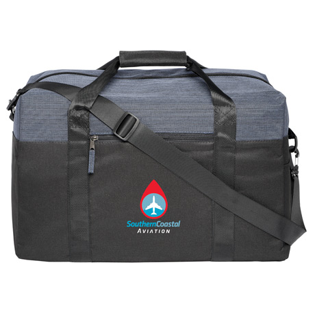 "Two Tone Heather 18"" Duffel Bag"