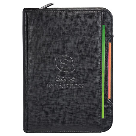 Luxe Jr. Zippered Padfolio
