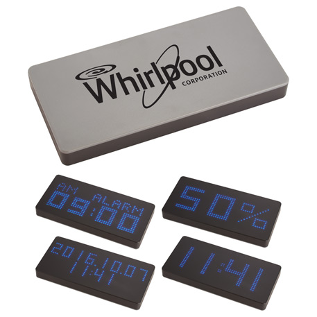 LED Display 8000 mAh Power Bank with Clock
