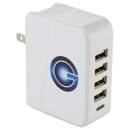 UL Listed Gale 4 Port AC Adapter