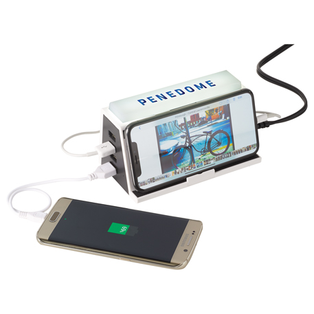 Lunation Wireless Charging Station with LED Light