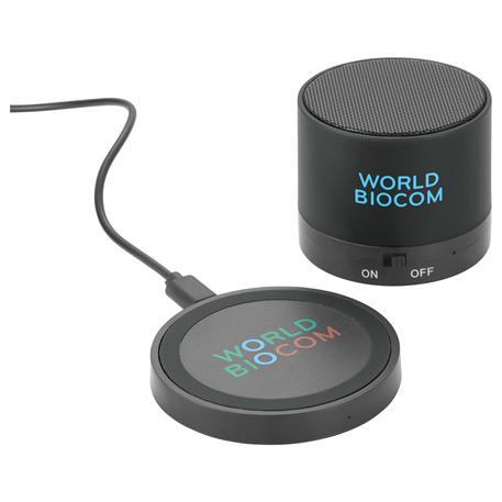 Cosmic Bluetooth Speaker & Wireless Charging Pad