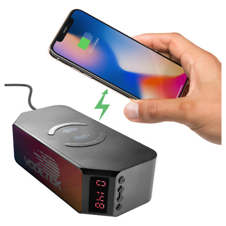 Bluetooth Speaker with Wireless Charging Powerbank