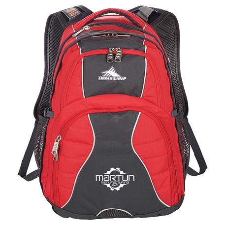 "High Sierra Swerve 17"" Computer Backpack"