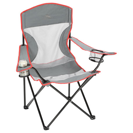 High Sierra® Camping Chair (300lb Capacity)