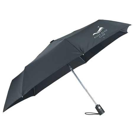 """44"""" totes SunGuard Auto Open/Close Umbrella"""
