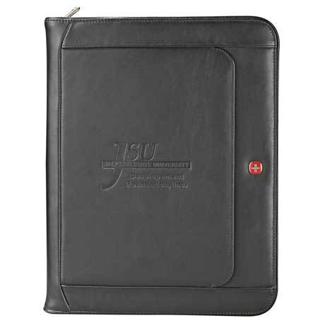 Wenger® Executive Leather Zippered Padfolio