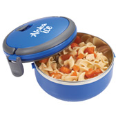 Round Insulated Lunch Box Food Container