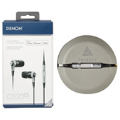 Denon AH-C620R Wired Earbuds with Music Control