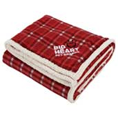 Field & Co.® Plaid Sherpa Blanket