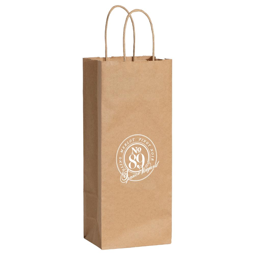 Kraft Paper Wine Bag Sm 5606 Bullet