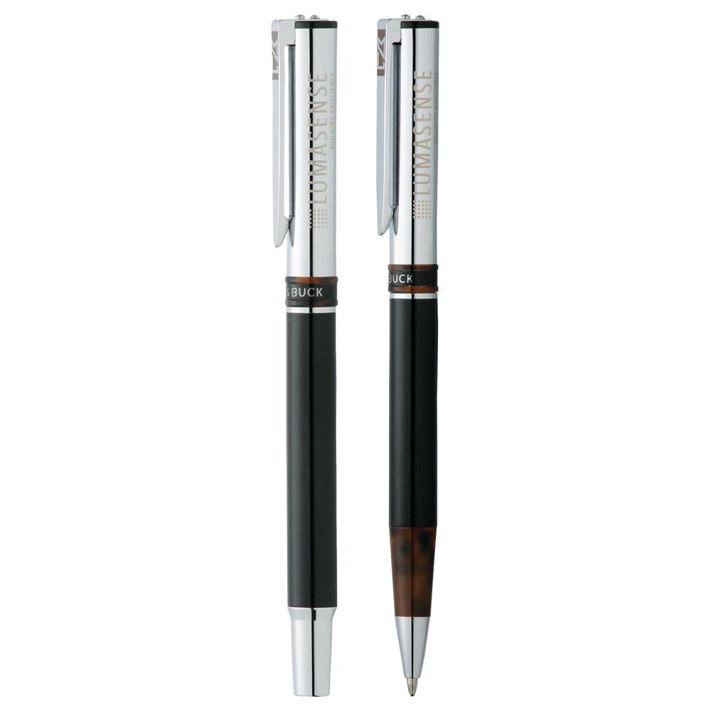 Premium Cutter & Buck (R) Lattice Roller Ball Pen