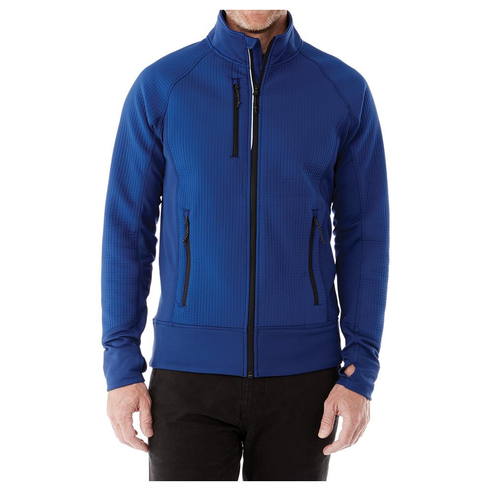M-PANORAMA Hybrid Knit Jacket
