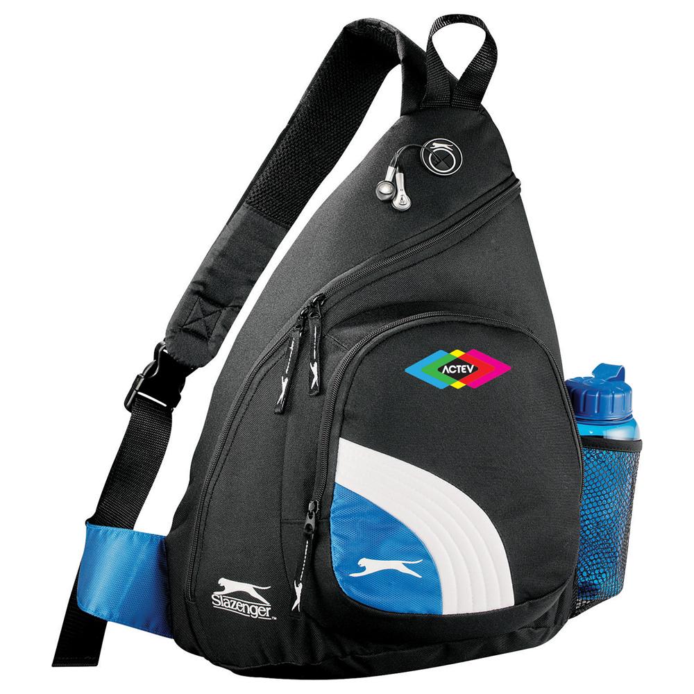Slazenger Sport Deluxe Sling Backpack - 6050-55 - Leeds f8aa28716fc4b