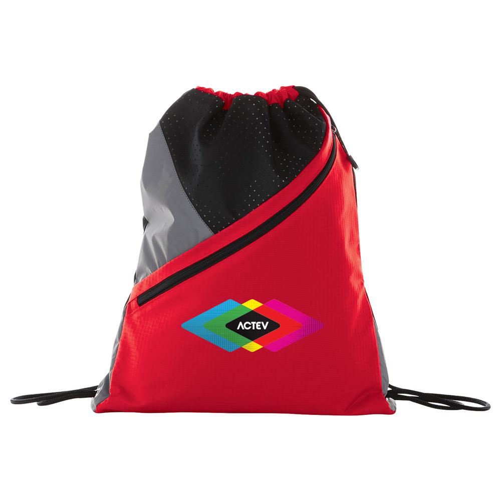 Slazenger® Competition Zip Drawstring Sportspack - 6050-72 - Leeds afaa32327cd50
