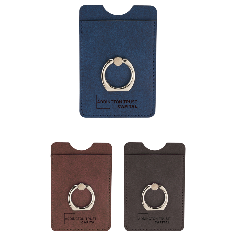 huge discount 4615a 8082f RFID Premium Phone Wallet with Ring Holder - 7141-42 - Leeds