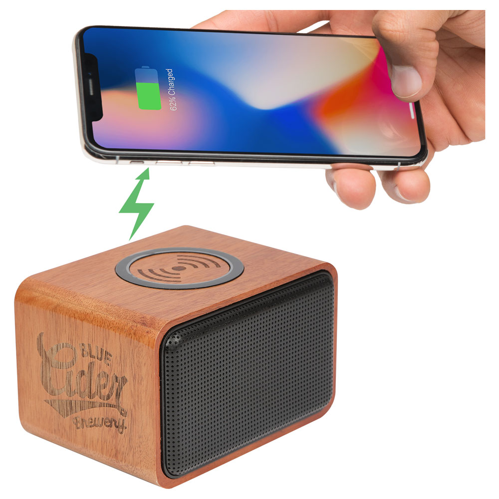 Wood Bluetooth Speaker With Wireless Charging Pad 7197 05 Leeds