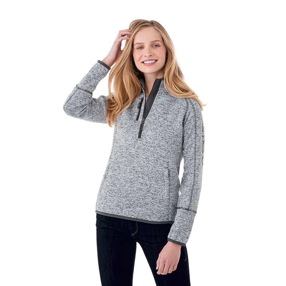 W-VORLAGE Half Zip Knit Jacket