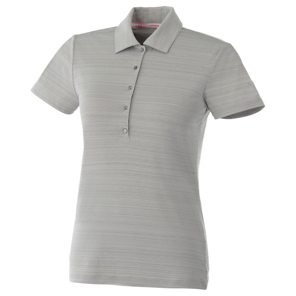 W-Puma Golf Barcode Stripe Polo