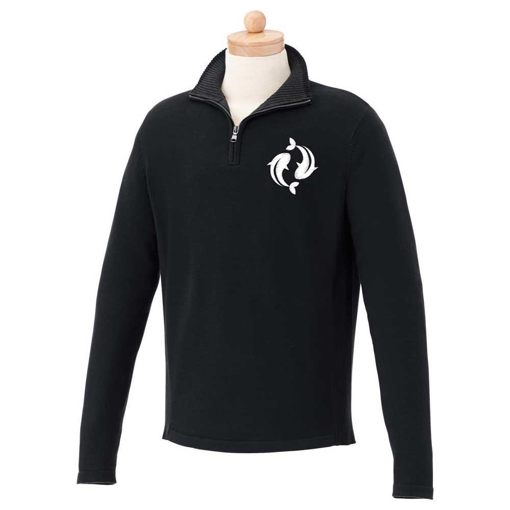 M-Moreton Quarter Zip Sweater