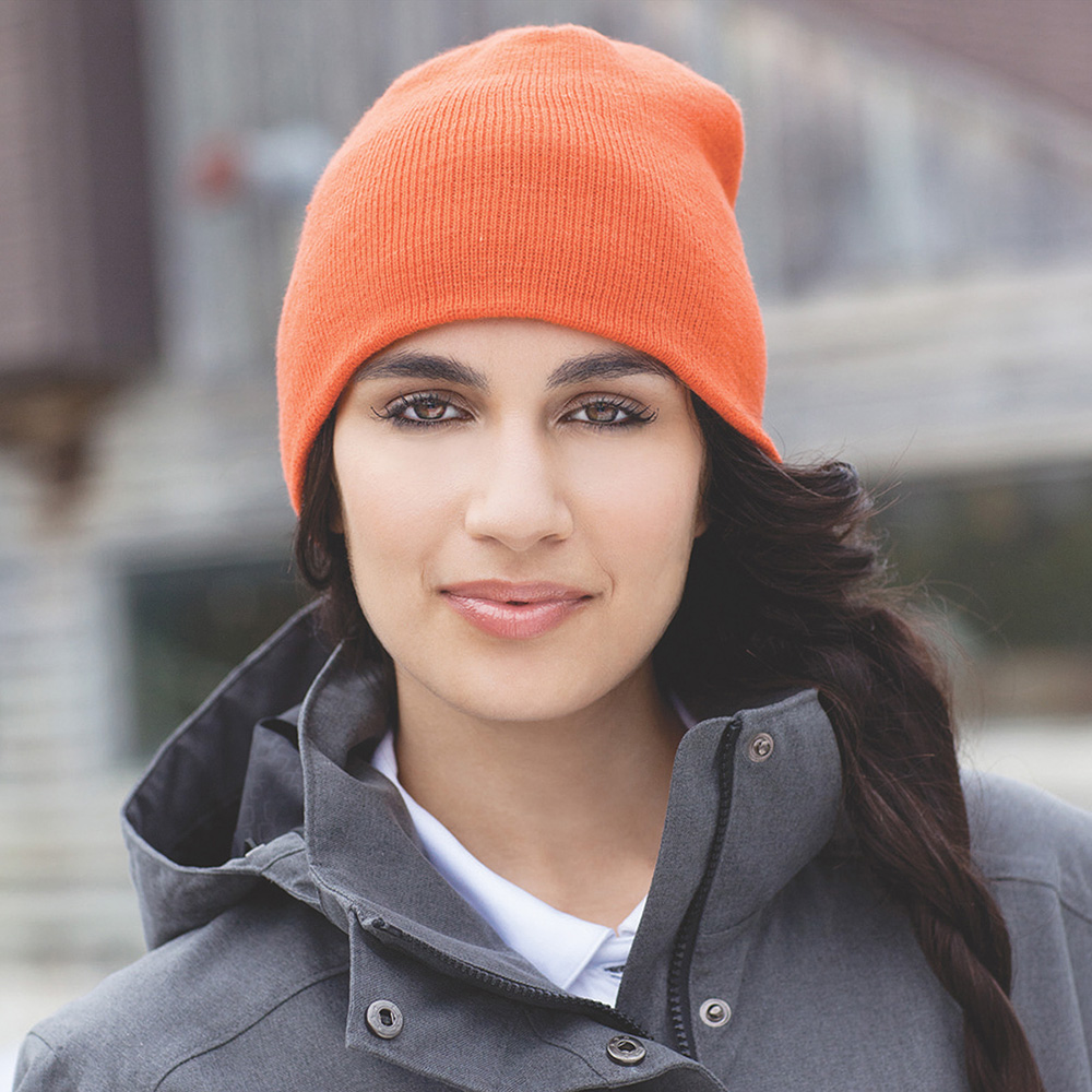 U-Level Knit Beanie