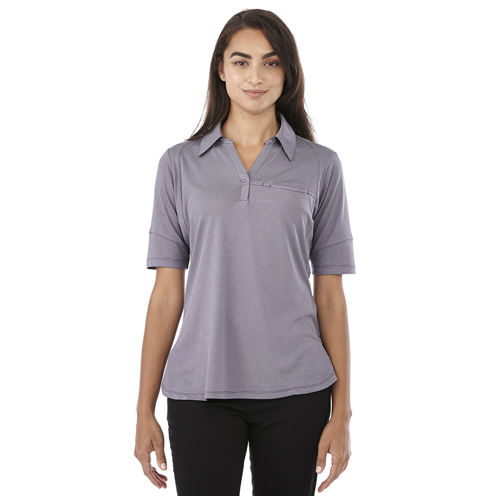 W-TORRES Short Sleeve Polo